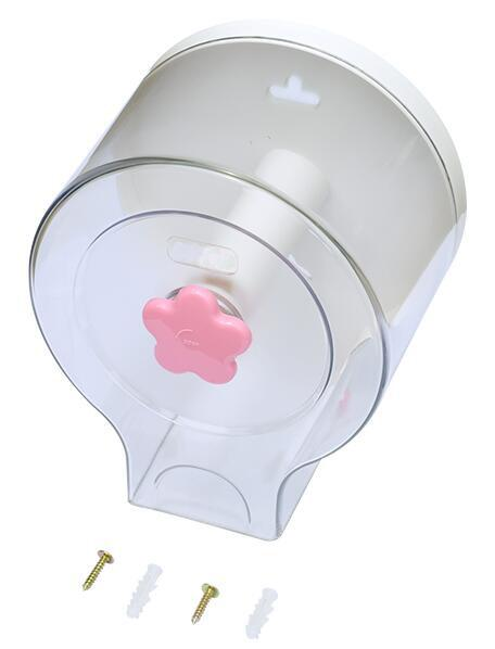 Cartoon Style ABS Jumbo Roll Toilet Paper Dispenser WC Wall Mounted Standard Capacity