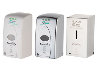 China ABS Plastic Touchless Hand Sanitizer Dispenser , No Touch Hand Wash Dispenser supplier