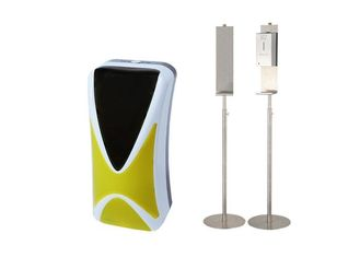 China ABS Plastic Hand Sanitizer Stand 1200ml For Automatic Hand Sanitizer Dispenser supplier