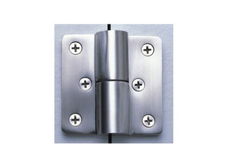 China Bathroom Toilet Cubicle Hardware , Self Closing Toilet Partition Door Hinges supplier