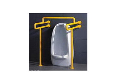 China Disabled Safety Toilet Cubicle Hardware , Stainless Steel / Nylon Grab Bar supplier