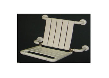 China Space Saving Handicap Shower Seat Wall Mount Waterproof Large Weight Capacity supplier