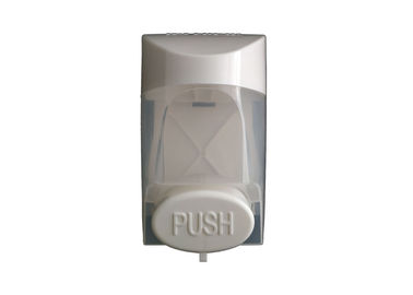 Restroom Plastic Hand Wash Soap Dispenser Manual Operated Environmentally Friendly