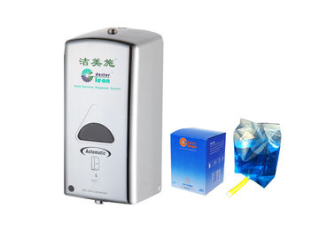 China Chrome Plated Touchless Hand Sanitizer Dispenser ABS Plastic ADA Compliant factory