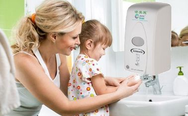 Wall Mounted ABS Touchless Hand Sanitizer Dispenser Automatic Durable