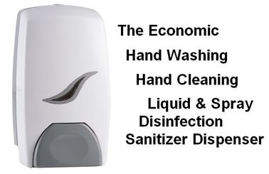 China Lightweight Hospital Hand Sanitizer Dispenser / Hand Rub Disinfectant Dispenser factory